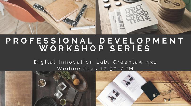 Professional Development Workshop Series