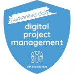 digital project management badge