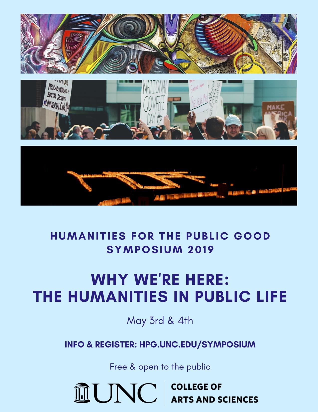 Flyer for HPG Symposium 2019